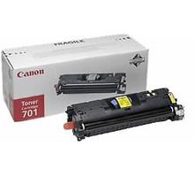 Заправка картриджа Canon 701Y  для LaserBase MF8180C i-Sensys, LBP-5200