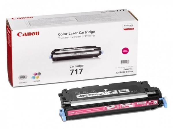 Заправка картриджа Canon 717M для LaserBase MF8450 i-Sensys