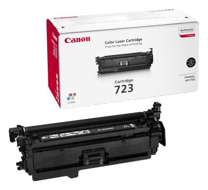 Заправка картриджа Canon 723Bk для LBP 7750 i-Sensys