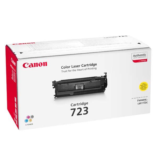 Заправка картриджа Canon 723Y для LBP 7750 i-Sensys