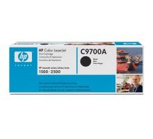 Заправка картриджа HP C9700A для Color LaserJet 1500, 2500