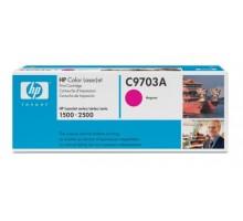 Заправка картриджа HP C9703A для Color LaserJet 1500, 2500