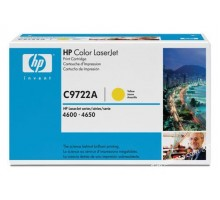 Заправка картриджа HP C9722A для Color LaserJet 4600, 4650