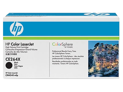 Заправка картриджа HP CE264X для Color LaserJet CM4540 MFP