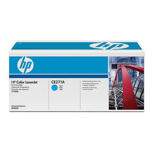 Заправка картриджа HP CE271A для Color LaserJet CP5520 Enterprise, CP5525