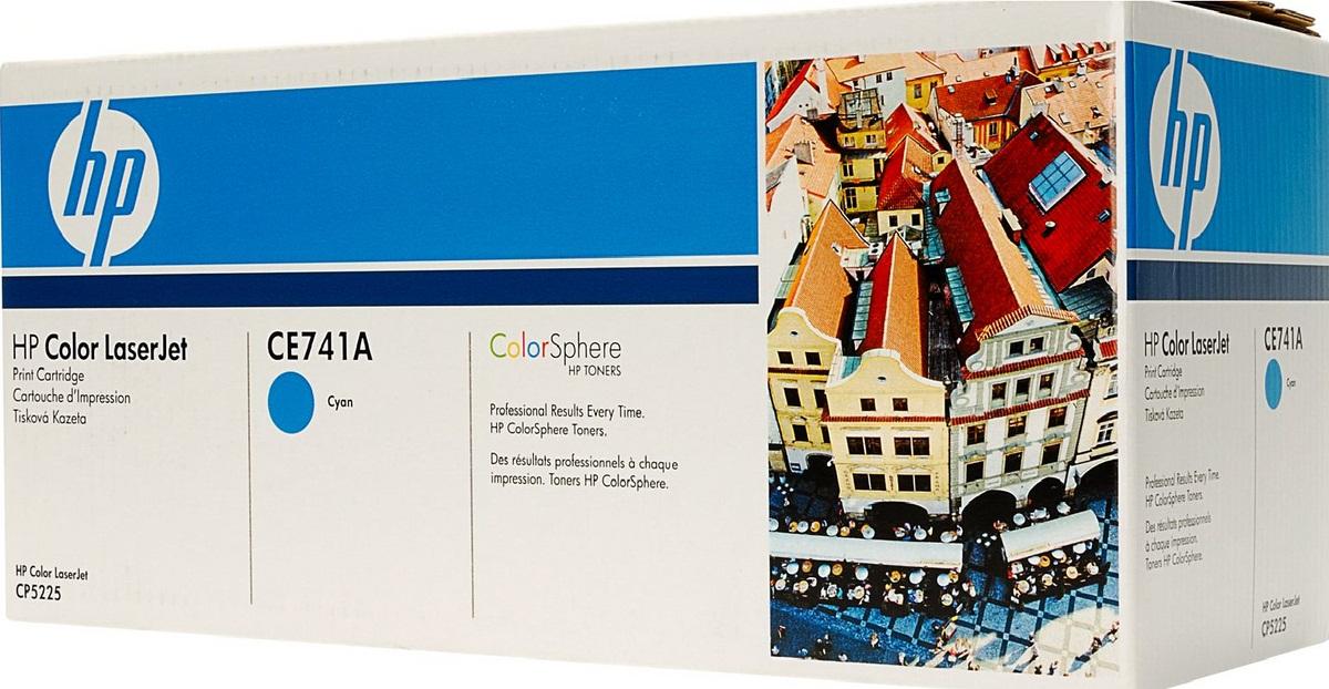 Заправка картриджа HP CE741A для Color LaserJet CP5220 Professional, CP5221, CP5223, CP5225, CP5227, CP5229