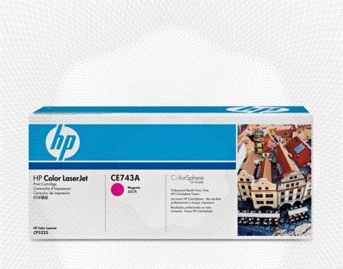 Заправка картриджа HP CE743A для Color LaserJet CP5220 Professional, CP5221, CP5223, CP5225, CP5227, CP5229