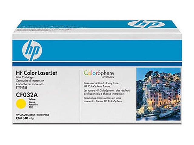Заправка картриджа HP CF032A для Color LaserJet Enterprise CM4540 MFP