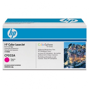 Заправка картриджа HP CF033A для Color LaserJet Enterprise CM4540 MFP