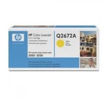 Заправка картриджа HP Q2672A для Color LaserJet 3500, 3550