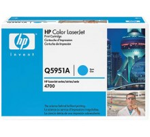 Заправка картриджа HP Q5951A для Color LaserJet 4700