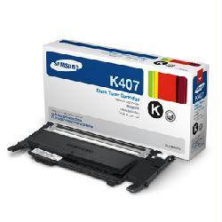 Заправка картриджа Samsung CLT-K407S (без чипа) Samsung CLP-320, CLP-325, CLX-3185 (требуется прошивка аппарата)