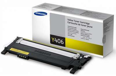 Заправка картриджа Samsung CLT-Y406S (без чипа) Samsung CLP-360, CLP-365, CLX-3300, CLX-3305 (требуется прошивка аппарата)