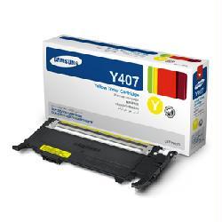 Заправка CLT-Y407S Samsung CLP-320, CLP-325, CLX-3185   чип