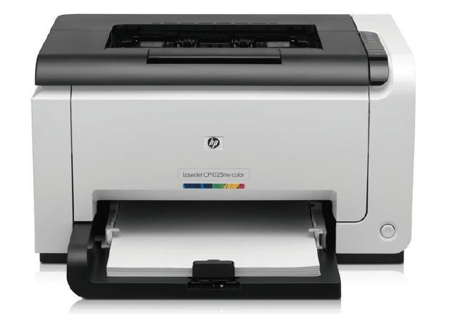 Принтер лазерный HP Color LaserJet Pro CP1025
