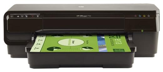 Принтер струйный HP Officejet 7110 WF, A3 , USB, Ethernet, WiFi (замена OJ7000 C9299A)