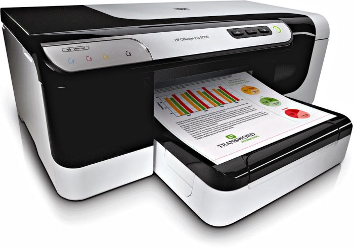 Принтер струйный HP Officejet Pro 8000 Series Printer