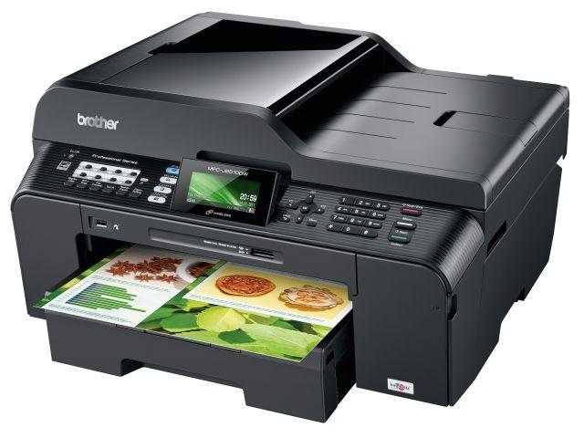 МФУ Brother MFC-J6910DW A3/дуплекс/принтер/копир/сканер/факс (27 стр/35 стр, WiFi, LCD)