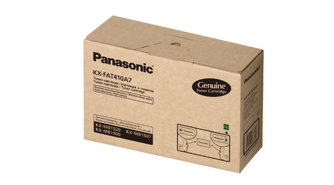 Картридж Panasonic KX-FAT410A7 для Panasonic KX-MB1500 / 1507 / 1520 / 1530 / 1536 / 1537 (повышенной ёмкости)