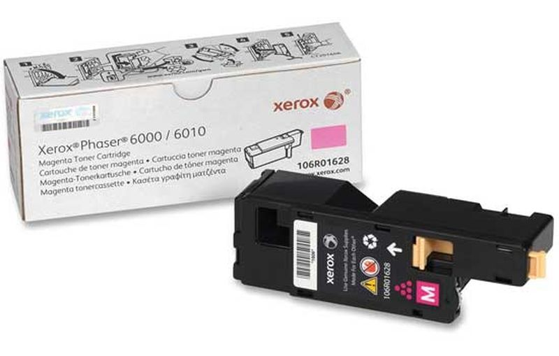 Картридж для Xerox Phaser 6000/6010/WorkCentre 6015 (1К) magenta 106R01632 ОЕМ