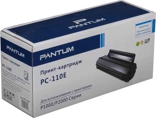 Заправка картриджа  Pantum PC-110E для Pantum P1000/P2000/P2050