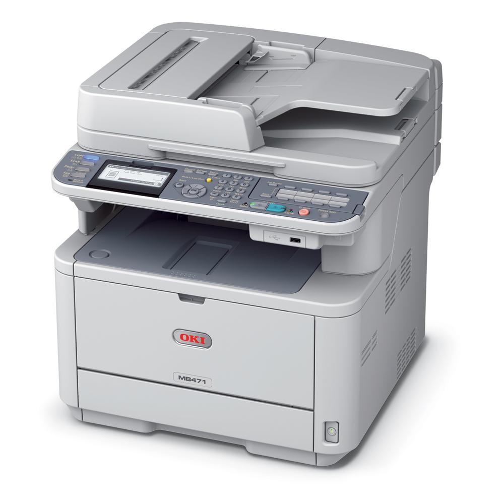 Заправка  принтера OKI MB471
