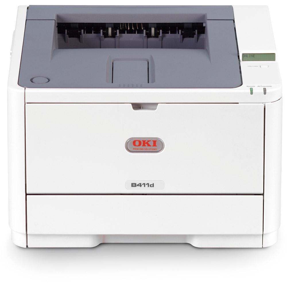Заправка  принтера OKI B411