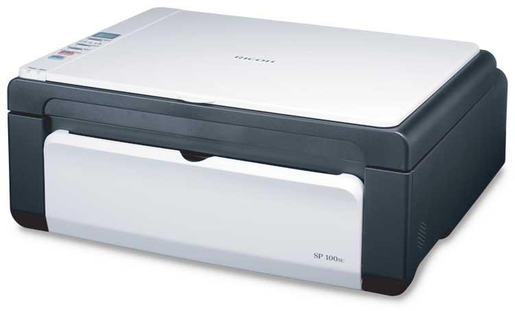 Заправка  принтера Ricoh Aficio SP 100SU