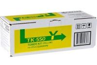 Заправка картриджа Kyocera TK 550Y