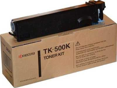 TK-500K BLACK Тонер для принтера FS-C5016N Kyocera (TK500K)