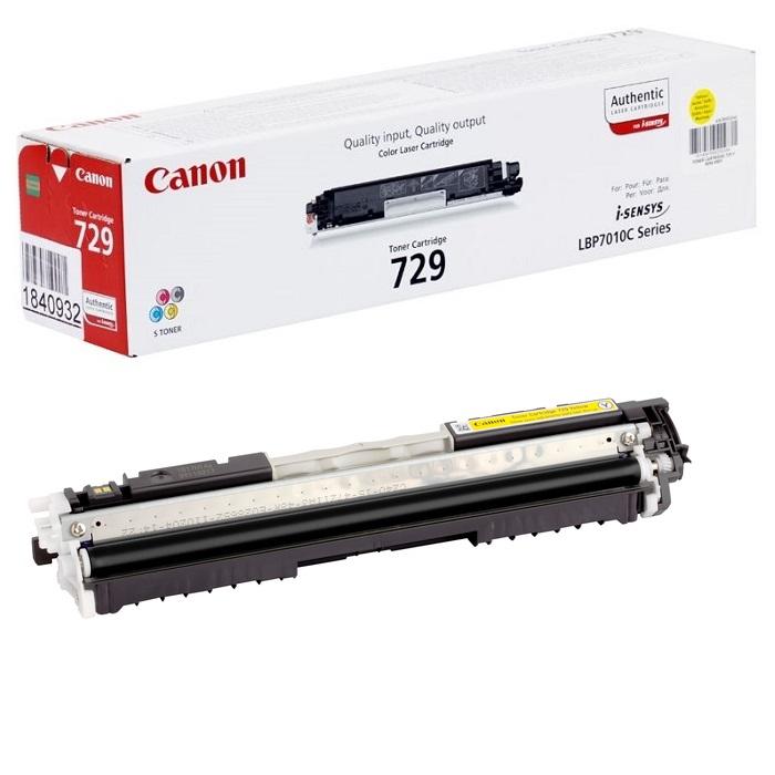 Картридж Canon 729Y OEM