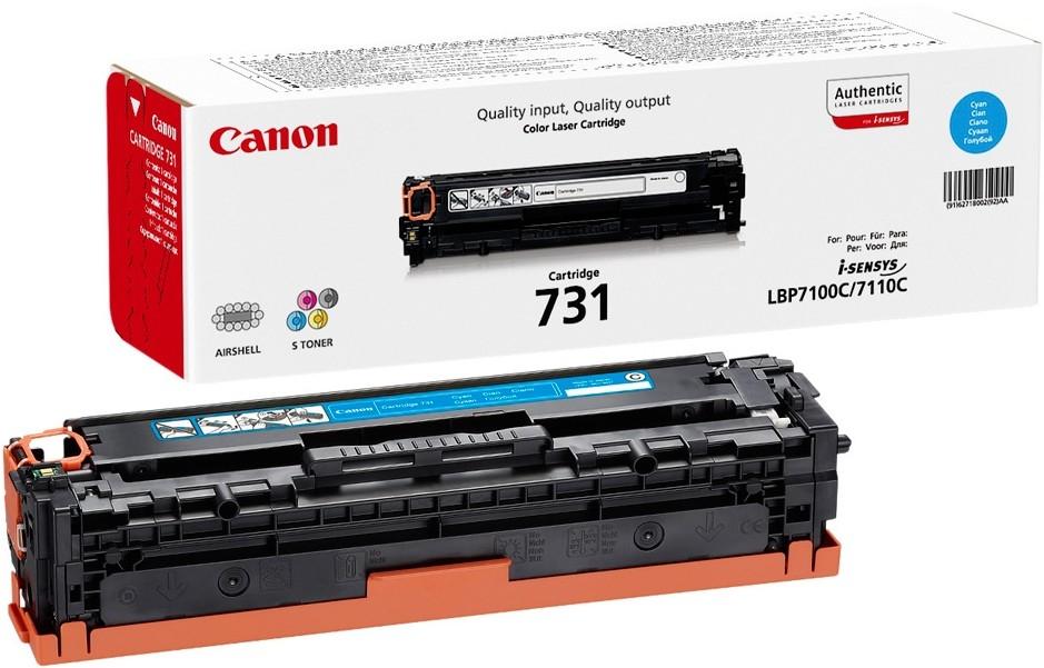 Заправка картриджа Canon 731C для Canon LBP 7100/7110 MF 8230/8280