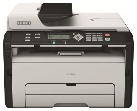 Заправка принтера Ricoh Aficio SP 203SF
