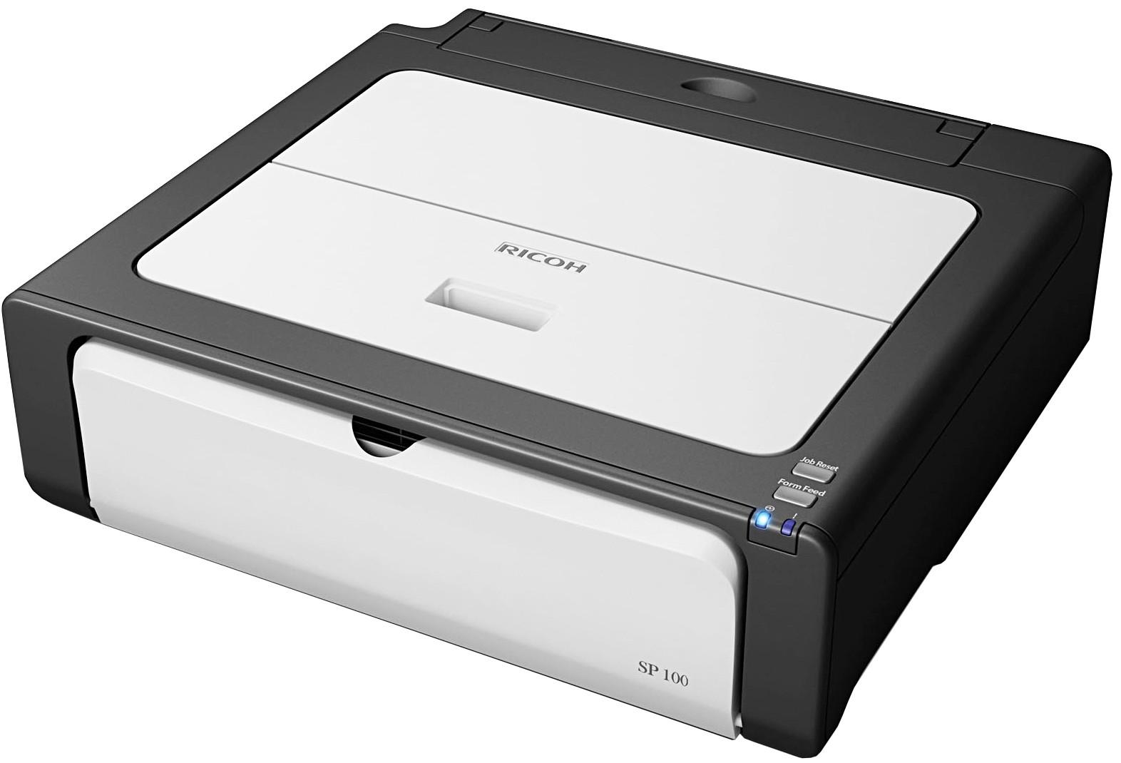 Заправка принтера Ricoh Aficio SP 100