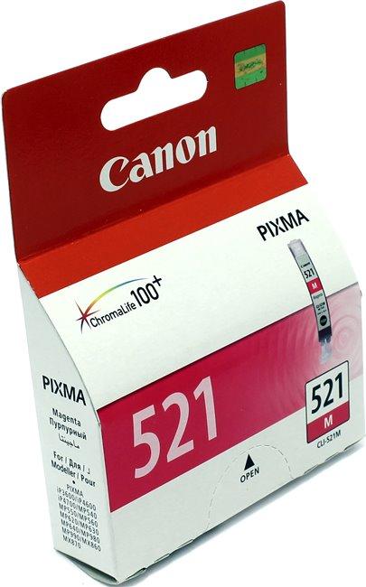 Картридж OEM совместимый для Canon CLI-521M пурпурный ОЕМ