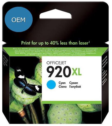 Картридж ОЕМ совместимый для голубой для HP CD972AE (№ 920XL)