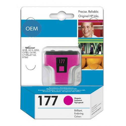 Картридж OEM совместимый для № 177 (HP C8772HE) magenta ОЕМ