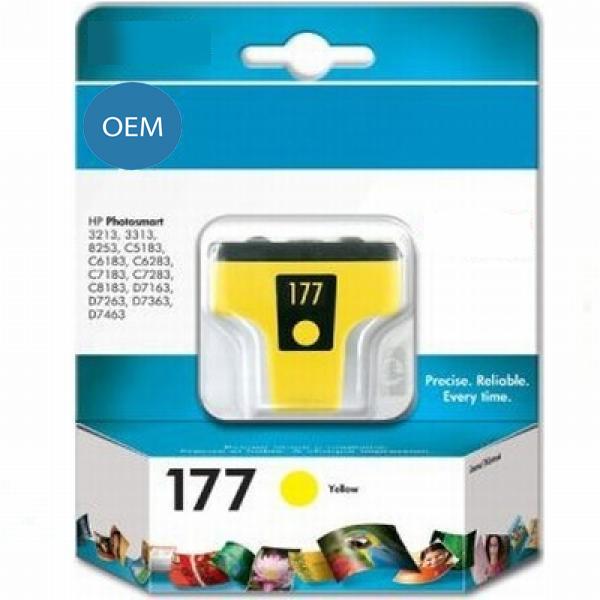 Картридж OEM совместимый для № 177 (HP C8773HE) yellow ОЕМ