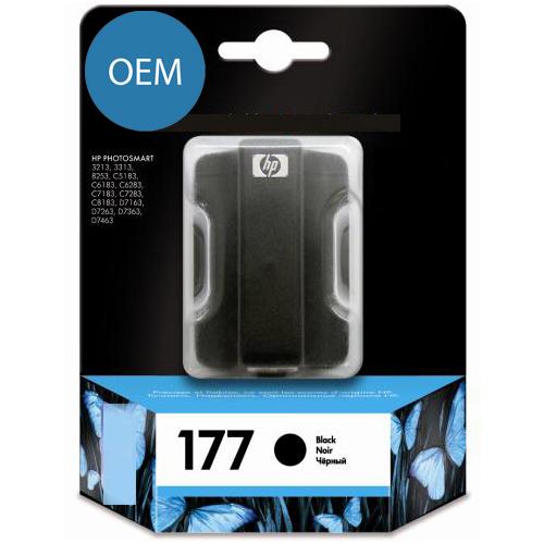 Картридж OEM совместимый для  № 177 (HP C8721HE) black ОЕМ