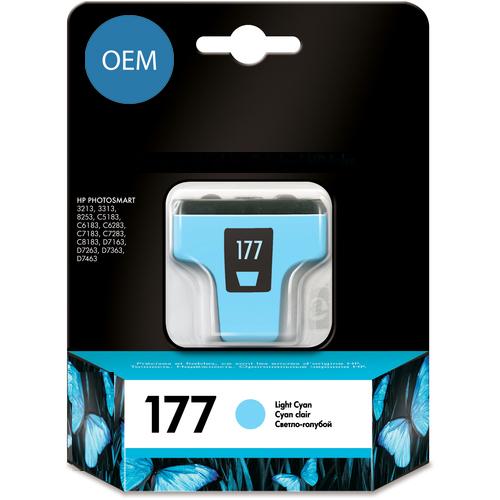 Картридж OEM совместимый для  № 177 (HP C8774HE) Light Cyan ОЕМ