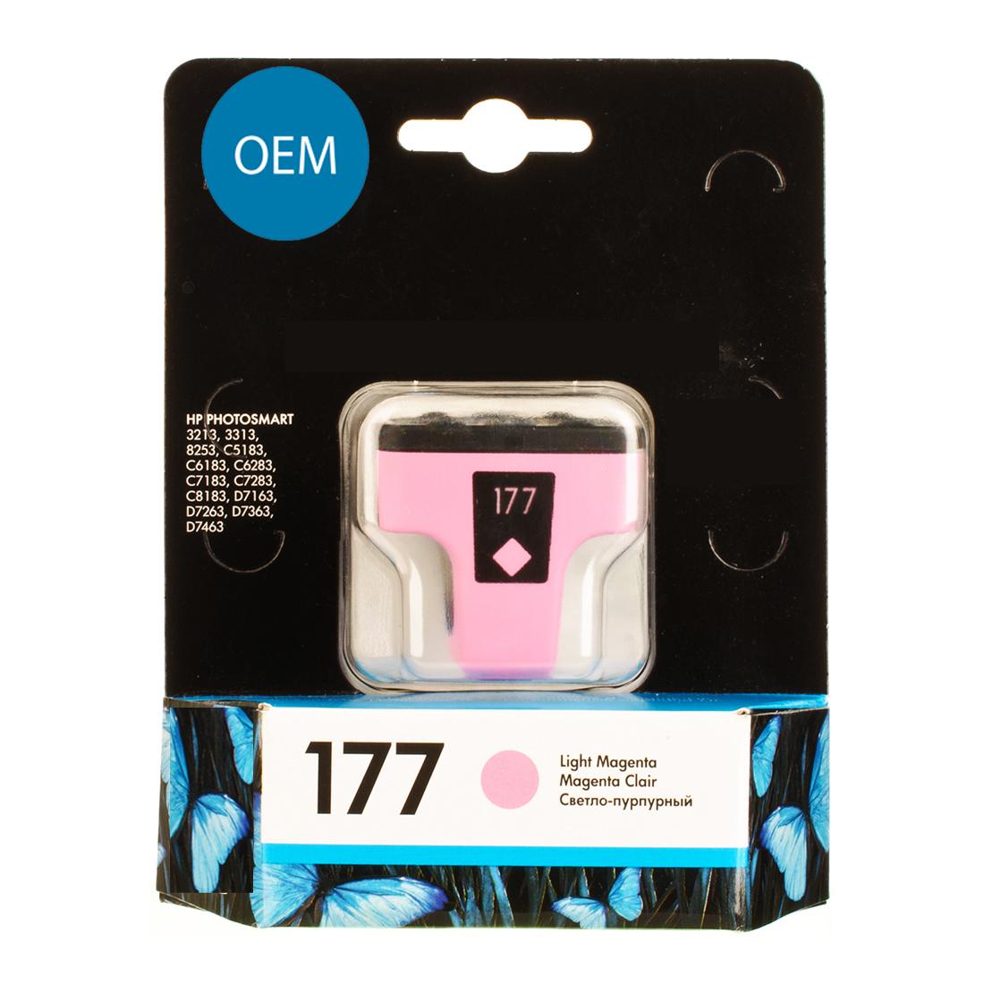Картридж OEM совместимый для № 177 (HP C8775HE) Light Magenta ОЕМ