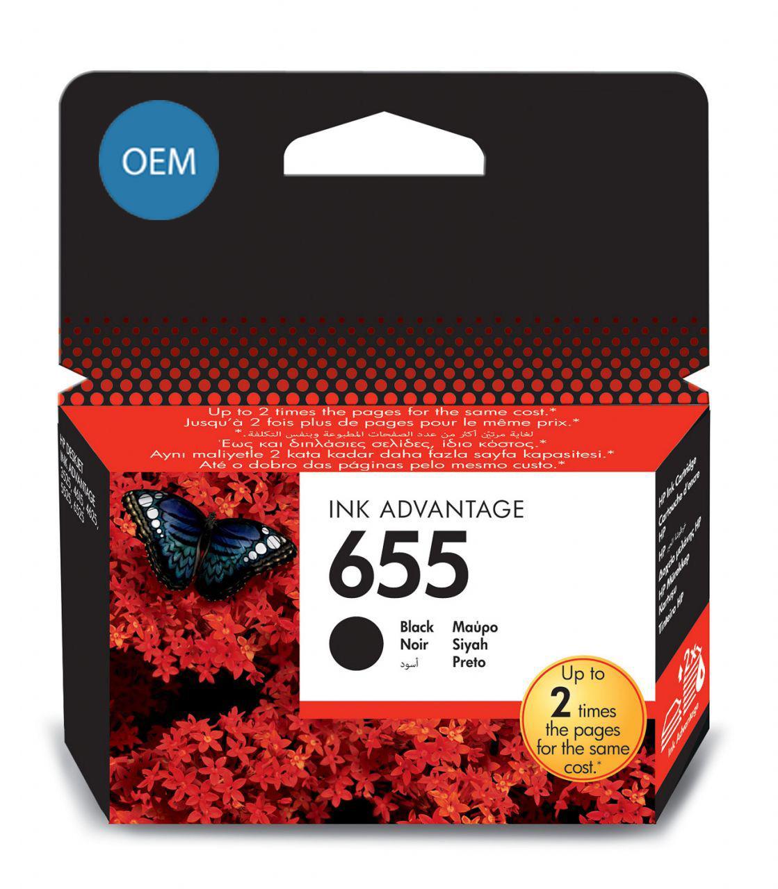Картридж OEM совместимый для № 655 (HP CZ109AE) black ОЕМ