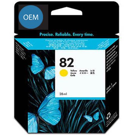Картридж OEM совместимый для № 82 (HP C4913A) yellow ОЕМ