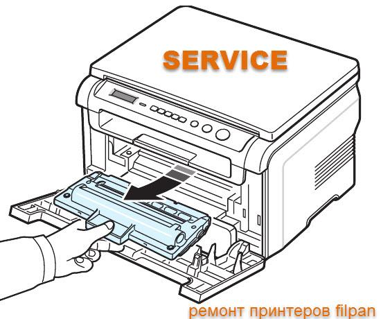 Ремонт принтера Samsung clp 300N