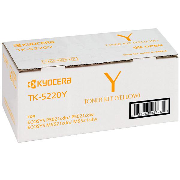 Заправка картриджа Kyocera TK-5220Y